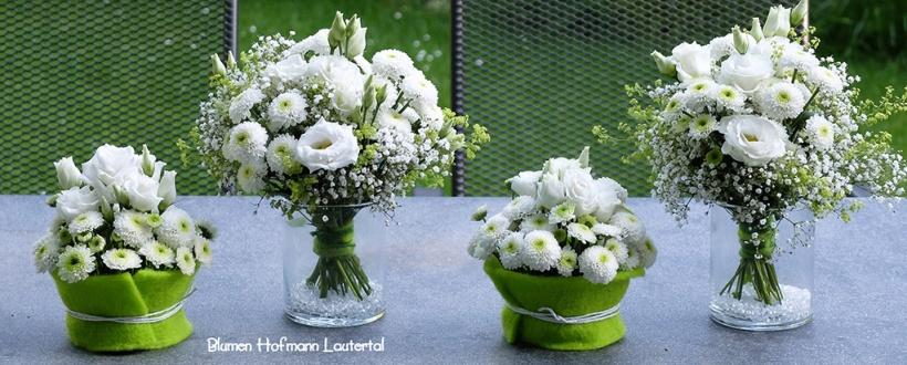 Tischdekoration Blumen Hofmann